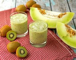 kiwi meloen smoothie