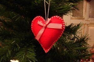 kerstboom-hart